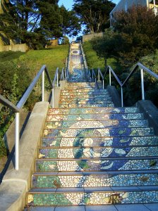 16th Moraga stairs