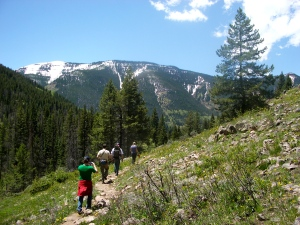 Hiking in the Colorado Rockies