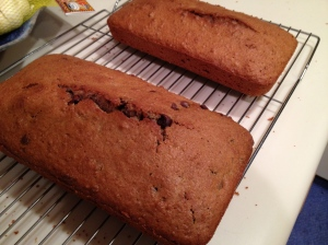 Finished Pound Cake