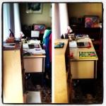 It feels great to organize my desk!