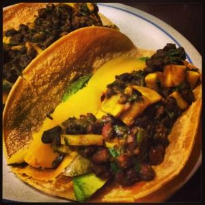 Squash Tacos